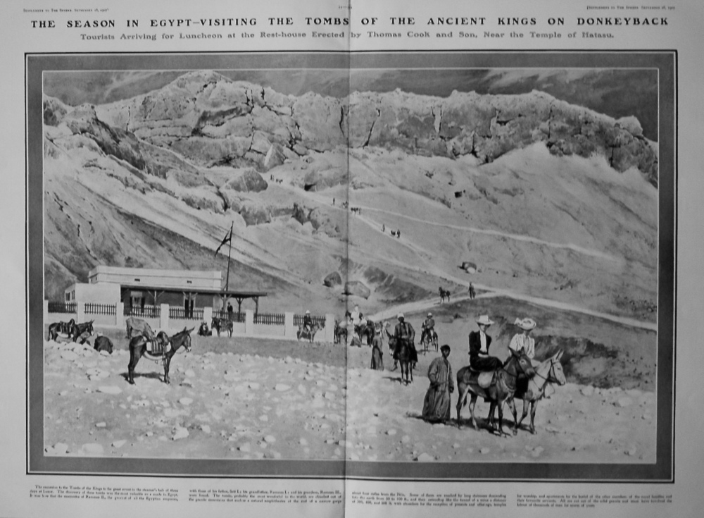 The Sphere, September 28th, 1901. (Supplement) : The Coming Season in Egypt.