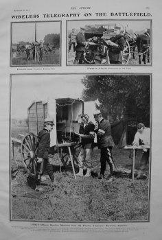 Wireless Telegraphy on the Battlefield. 1907