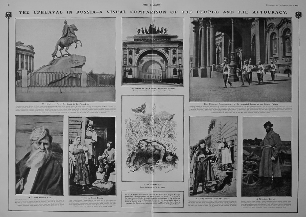 The Sphere, April 1st, 1905.  (Supplement) : The Upheaval in Russia.
