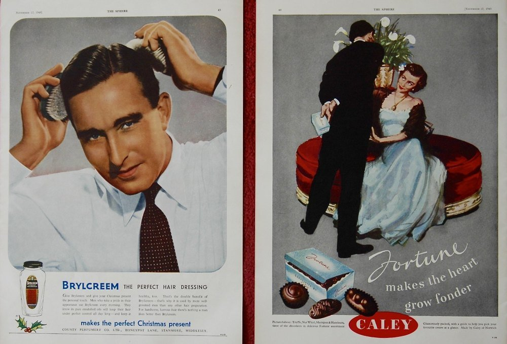 Brylcreem, and Fortune Chocolates.