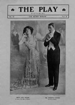 """The Merry Widow"" No. 61 Volume X. 1907"