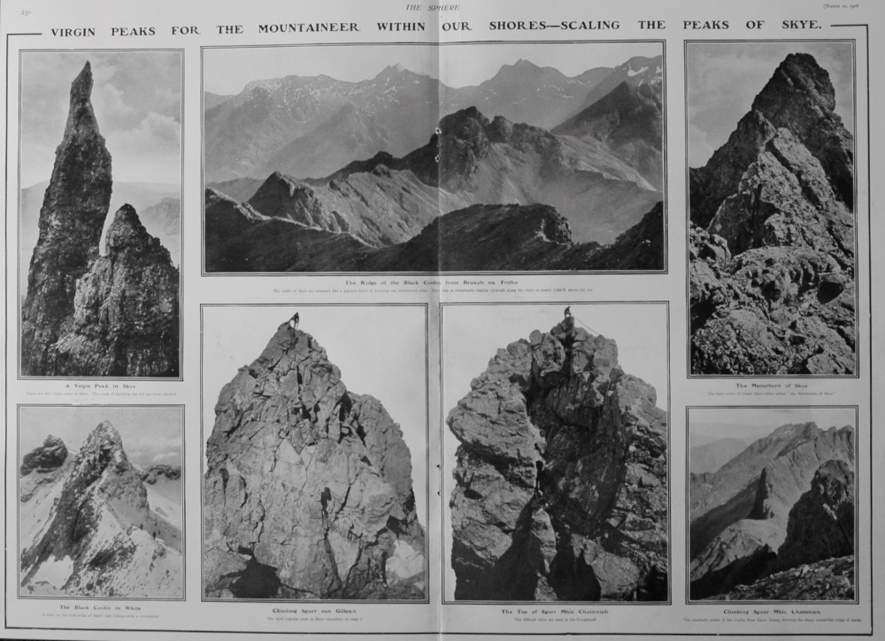 Virgin Peaks for the Mountaineer Within Our Own Shores. 1908