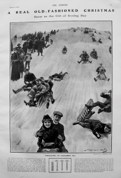 A Real Old-Fashioned Christmas. 1907