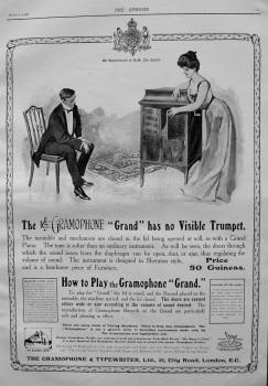 The Gramophone & Typewriter, Ltd. 1907