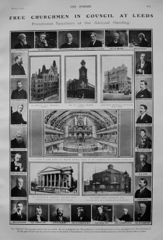Free Churchmen in Council at Leeds. : Prominent Speakers at the Annual Meeting. 1907