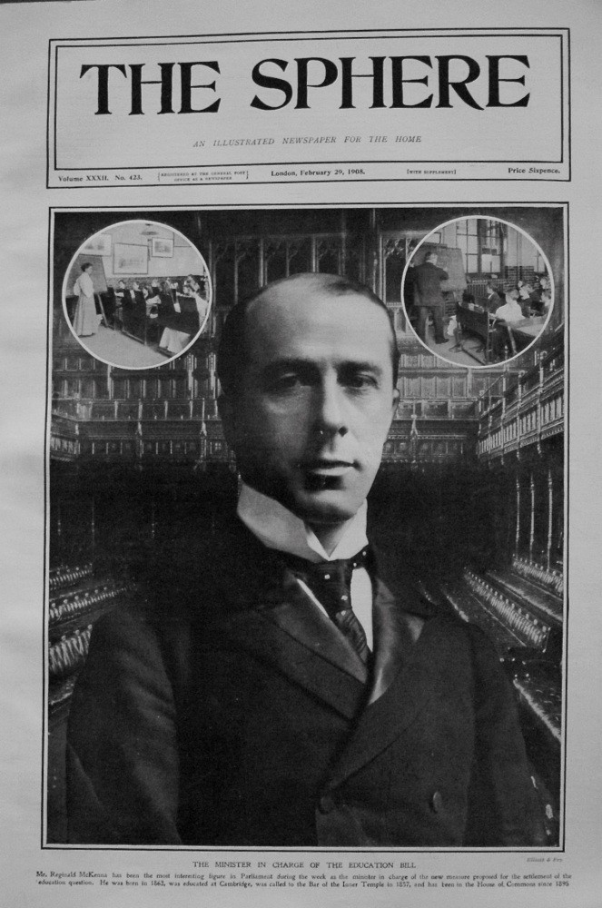The Sphere, February 29th, 1908.