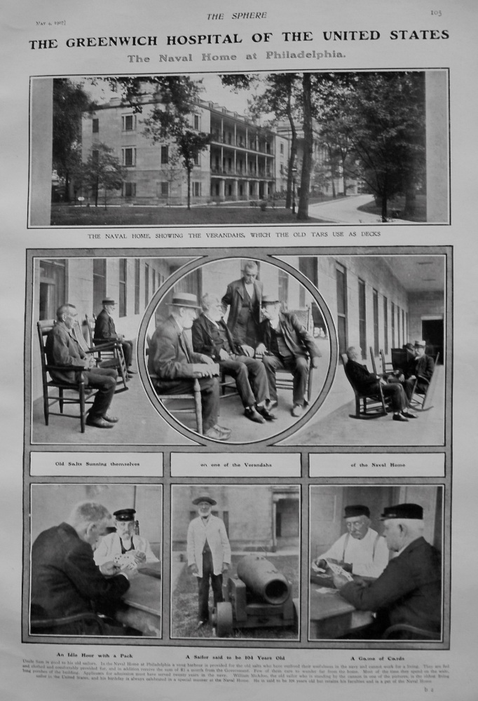 The Greenwich Hospital of the United States : The Naval Home at Philadelphia. 1907