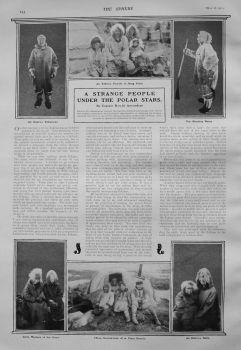A Strange People Under the Polar Stars. by Captain Roald Amundsen. 1907