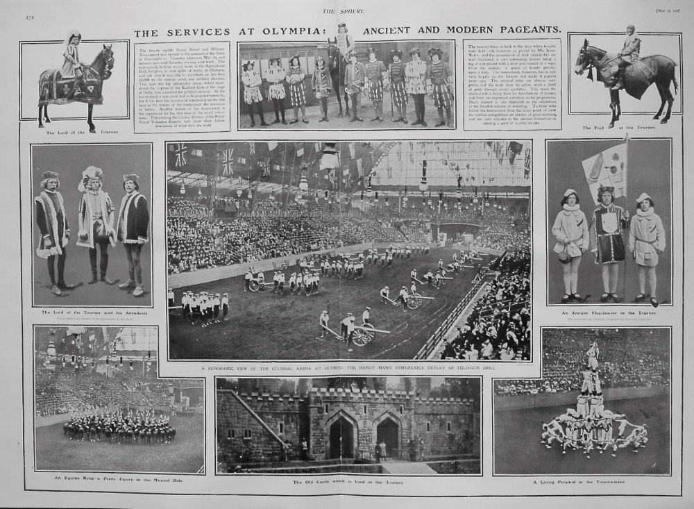 The Services at Olympia : Ancient and Modern Pageants. 1907