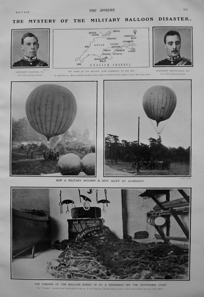 The Mystery of the Military Balloon Disaster. 1907