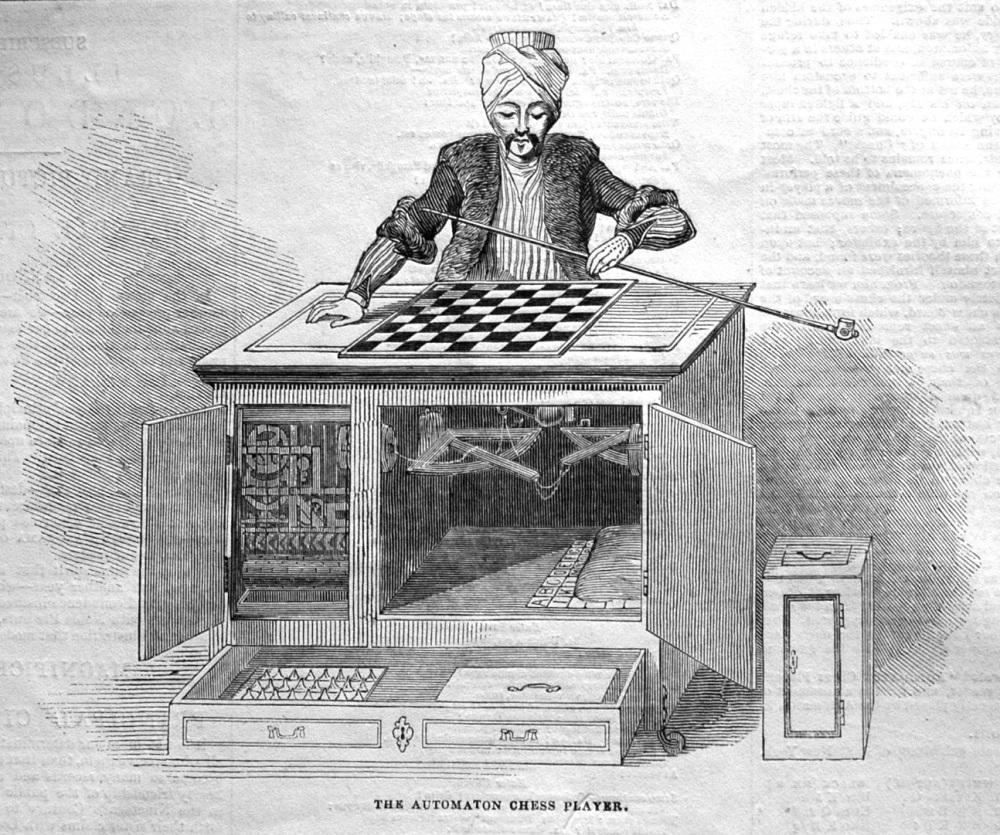 The Automaton Chess Player Redivivus. 1845