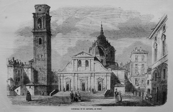 Cathedral of St. Giovanni, at Turin. 1855