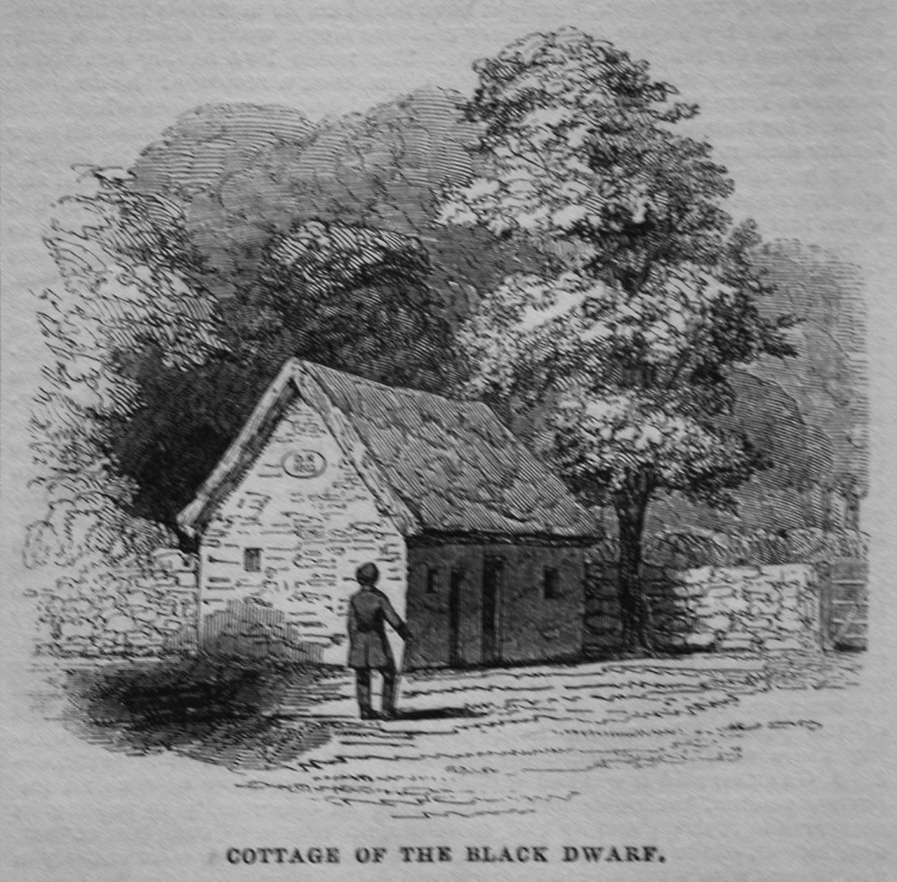 Cottage of the Black Dwarf. 1845.