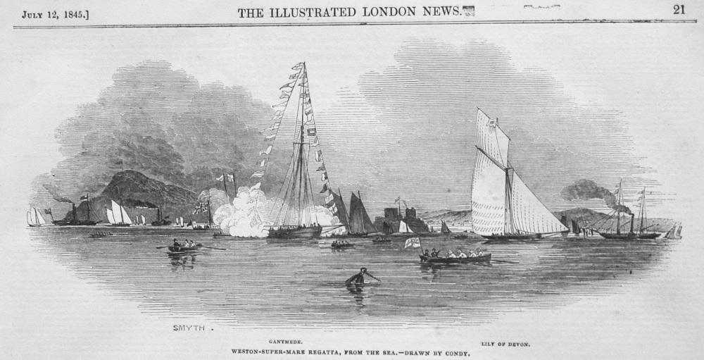 Bristol Channel Regatta. 1845