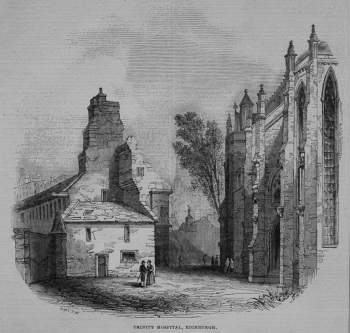 Trinity Hospital, Edinburgh. 1845