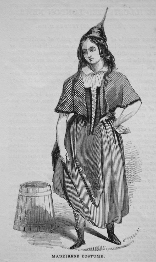 Madeirese Costume. 1845