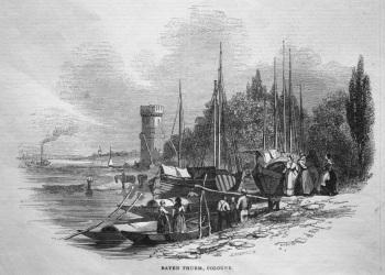 Bayen Thurm, Cologne. 1845