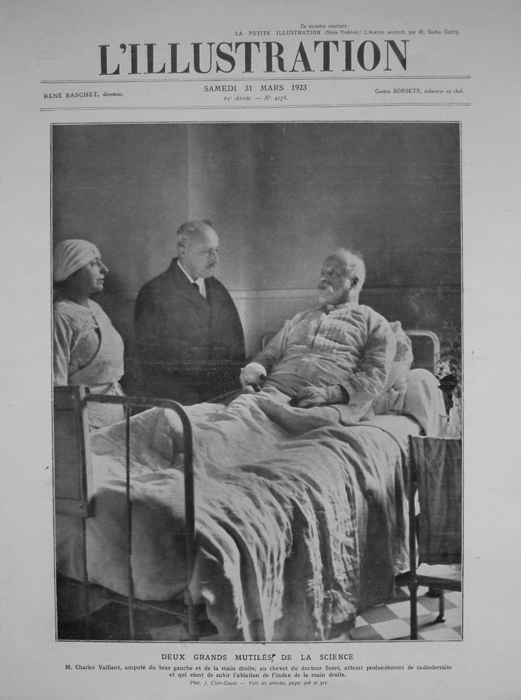 L'Illustration. 31st. March 1923.