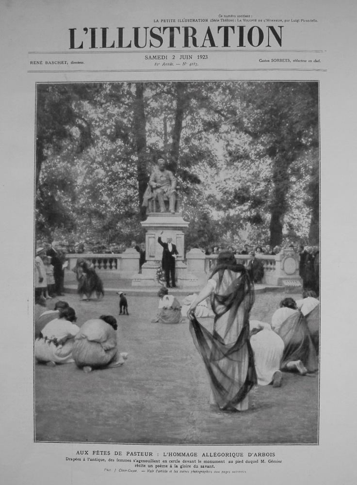 L'Illustration. 2nd. June 1923.