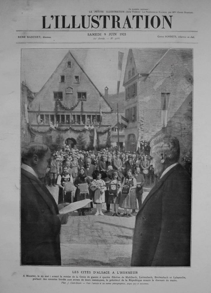L'Illustration. June 9th. 1923.