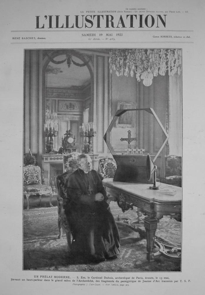 L'Illustration. 19th. May 1923.