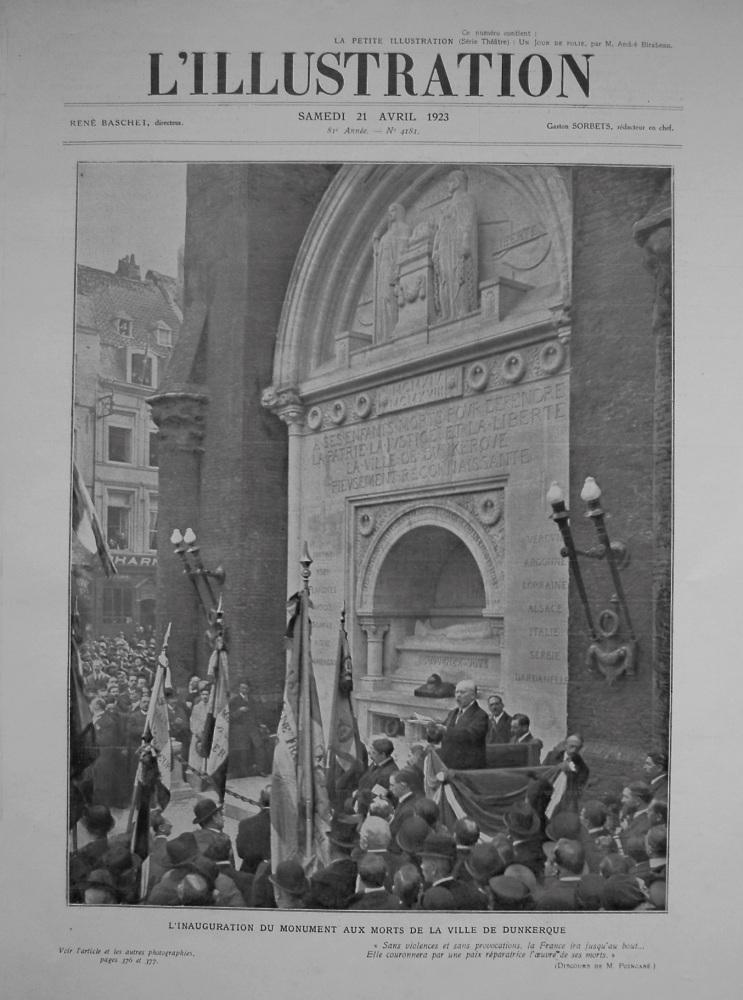 L'Illustration. April 21st. 1923.