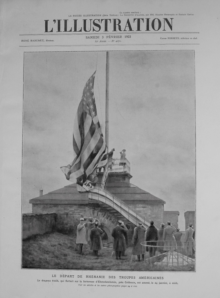 L'Illustration. February 3rd. 1923.