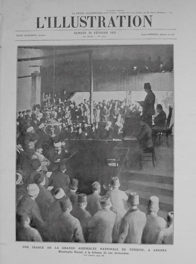 L'Illustration. February 24th. 1923.