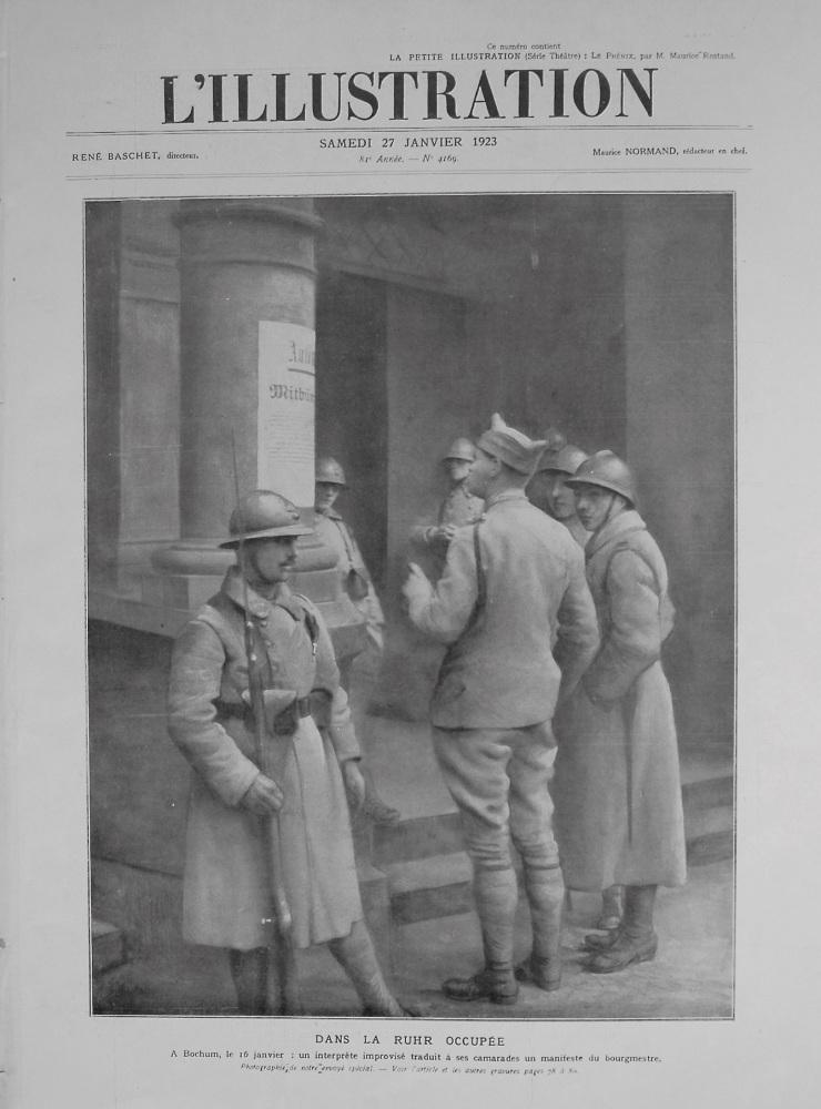 L'Illustration. January 27th. 1923.