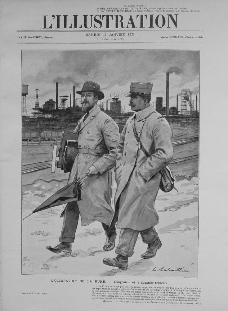 L'Illustration. January 13th. 1923.