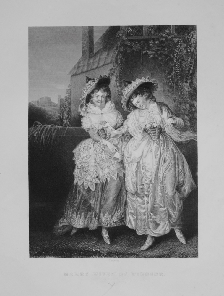 Merry Wives of Windsor. 1849