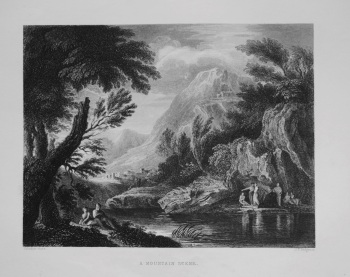 A Mountain Scene. 1849