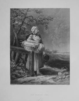 The Market Girl. 1849