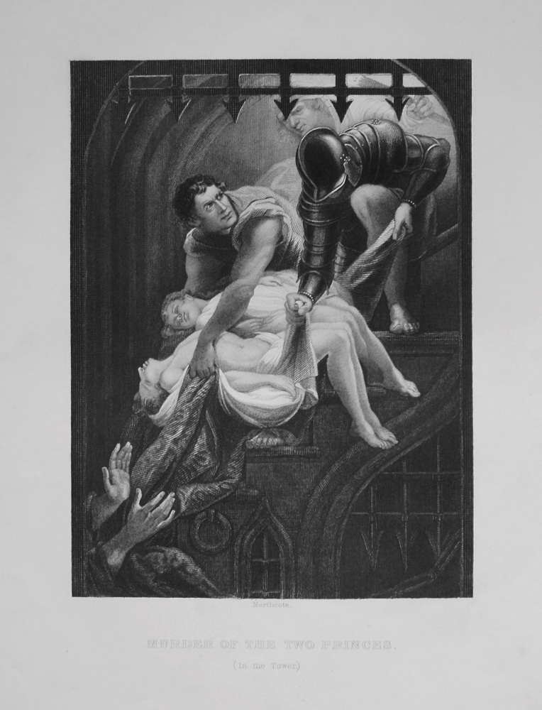 Murder of the Two Princes. (In the Tower.) 1849