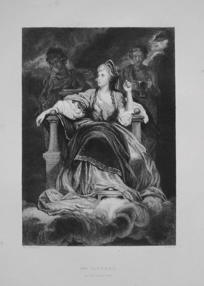 Mrs. Siddons as the Tragic Nurse. 1849