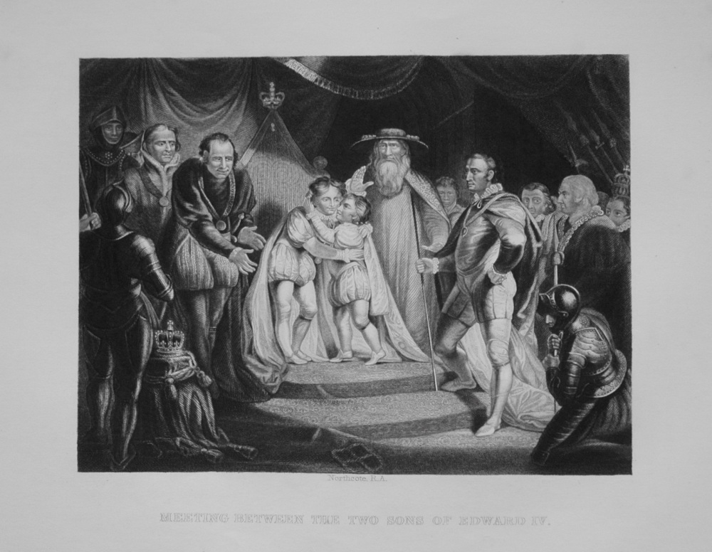 Meeting Between The Two Sons of Edward IV. 1849