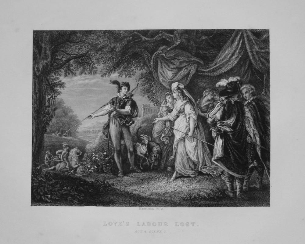 Love's Labour Lost.  Act 4. Scene 1. 1849