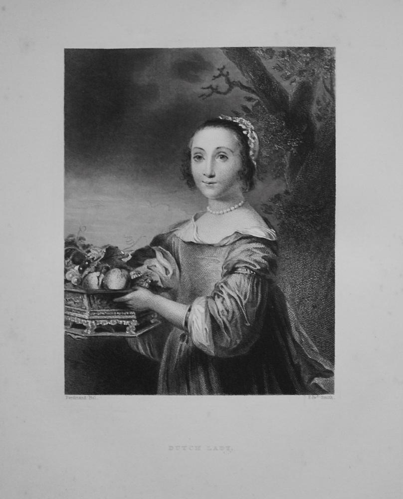 Dutch Lady. (With )Fruit) 1849