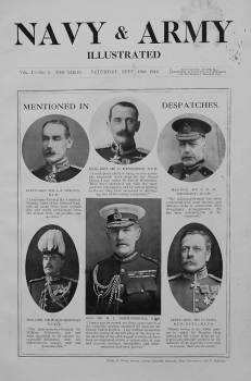 Navy & Army Illustrated. September 19th, 1914.
