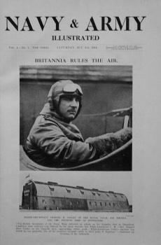 Navy & Army Illustrated. October 3rd, 1914.