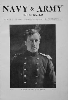 Navy & Army Illustrated. October 24th, 1914.