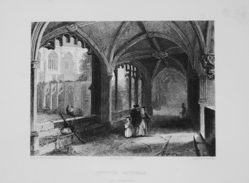 Chester Cathedral. (The Cloisters)