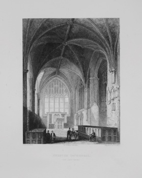 Chester Cathedral. (The Lady Chapel)
