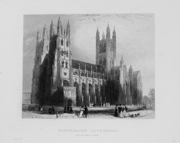 Canterbury Cathedral (South West View)