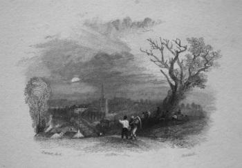 A Village Evening. 1835