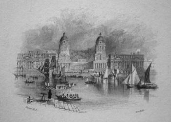 Greennwich Hospital. 1833