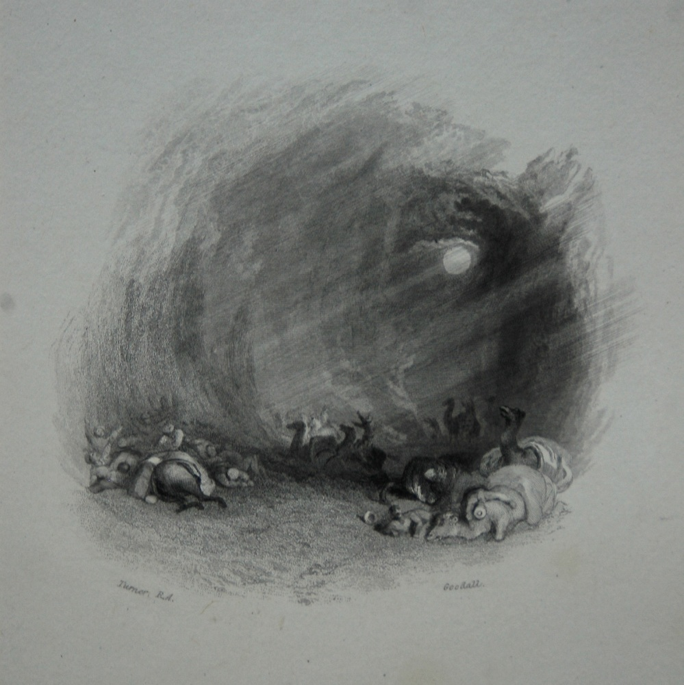 A Hurricane in the Desert. 1833