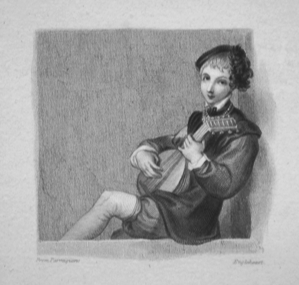 The Guitar. 1833