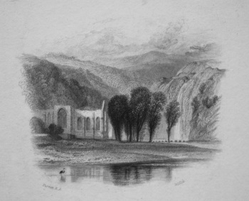Bolton Abbey. 1833