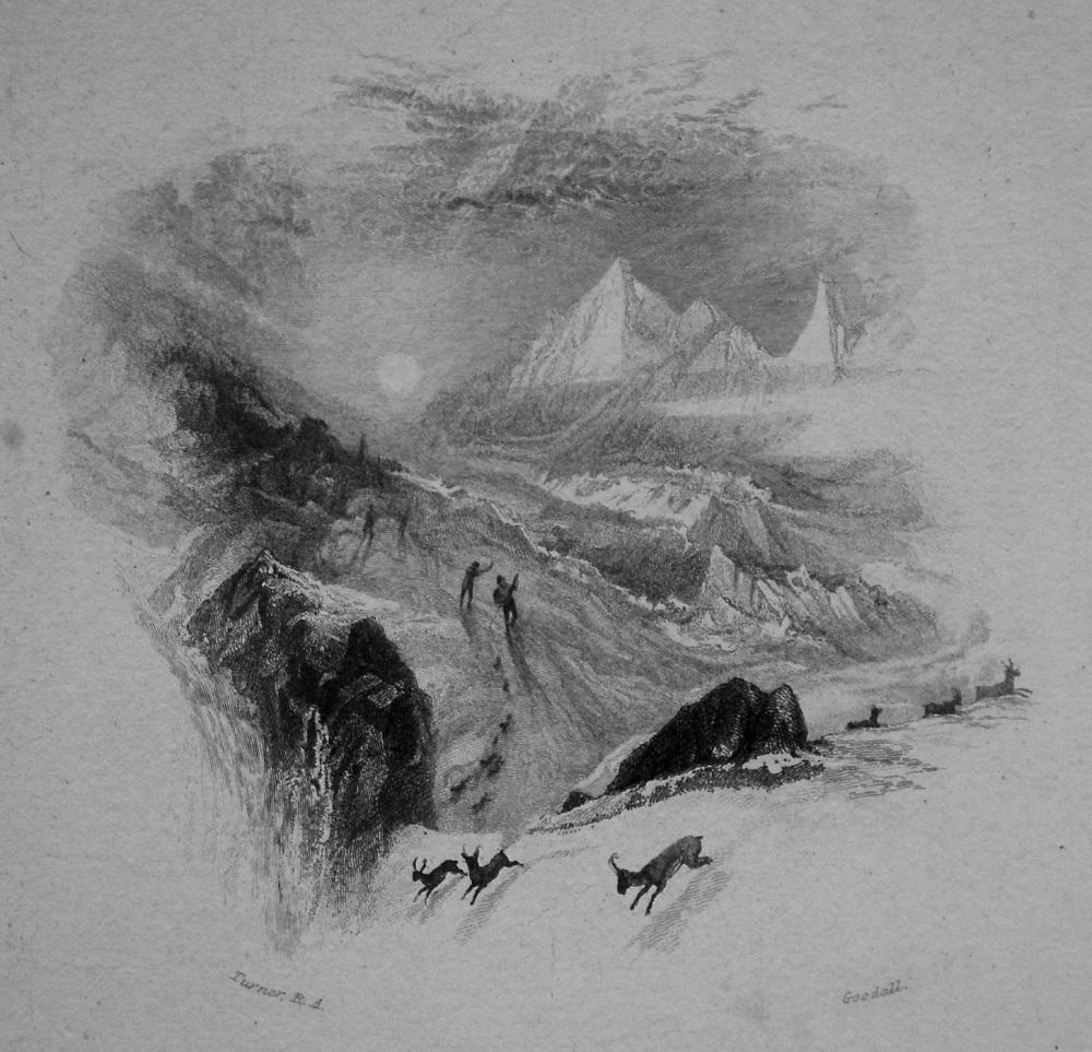The Alps. 1833